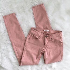 CAbi Light Pink Skinny Jeans Style 224